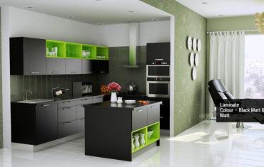Island Shape Kitchen